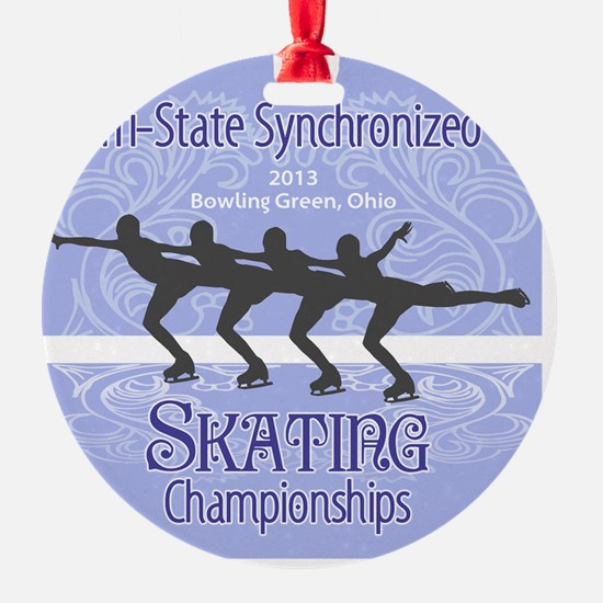 Tri-States Synchronized Skating Cha Ornament