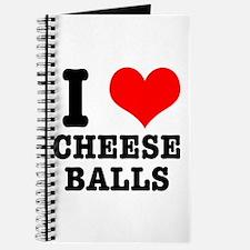 I Heart (Love) Cheese Balls Journal