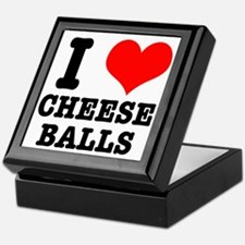 I Heart (Love) Cheese Balls Keepsake Box
