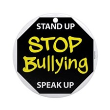 stop bullying Round Ornament