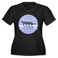 Tri-States S Women's Plus Size Dark V-Neck T-Shirt