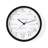 Swahili Wall Clocks
