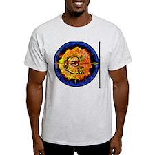 Masonic Eye on Blue T-Shirt