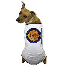 Masonic Eye on Blue Dog T-Shirt