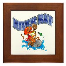 RIVER RAT Framed Tile