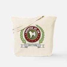 Sheepdog Adopted Tote Bag