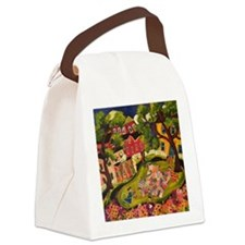 Crazy Quilters Canvas Lunch Bag