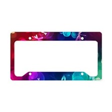 laptop-green License Plate Holder
