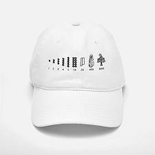 Aztec Numbers Baseball Baseball Cap