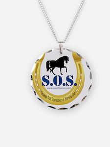 SOS Logo Necklace