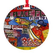 Seattle Fish Market Ornament
