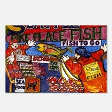 Seattle Fish Market Postcards (Package of 8)