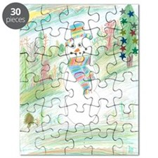 A Kind Of Snowman Day. Puzzle