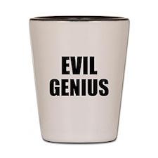 Evil Genius Shot Glass