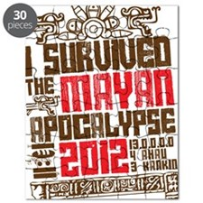 I Survived the Mayan Apocalypse 2012 Puzzle
