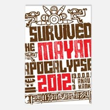 I Survived the Mayan Apoc Postcards (Package of 8)