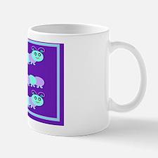 Whimsical Baby Bug Purple Mug