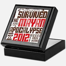 I Survived the Mayan Apocalypse 2012 Keepsake Box
