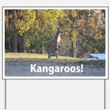 Kangaroos Yard Sign