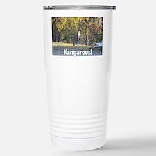 Kangaroos Travel Mug