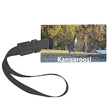 Kangaroos Luggage Tag