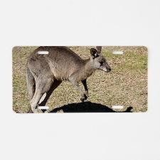Kangaroo1 Aluminum License Plate