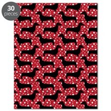 Red Polka Doxies Puzzle