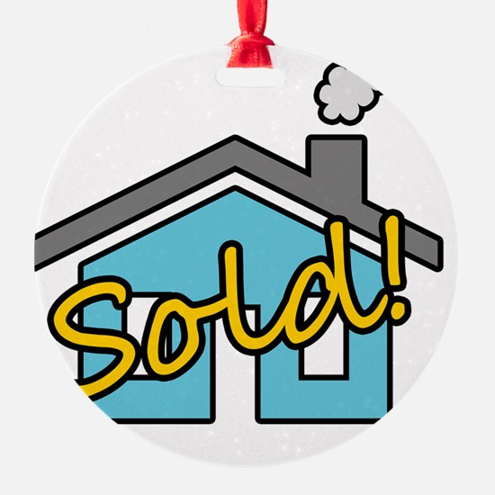 House Sold! Ornament
