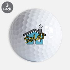 House Sold! Golf Ball