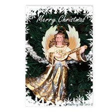 Christmas Angel Postcards (Package of 8)