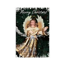 Christmas Angel Rectangle Magnet