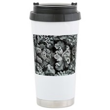 Botanical Coral Travel Mug