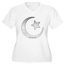 Silver Star and Crescent T-Shirt