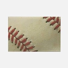 Baseball Rectangle Magnet
