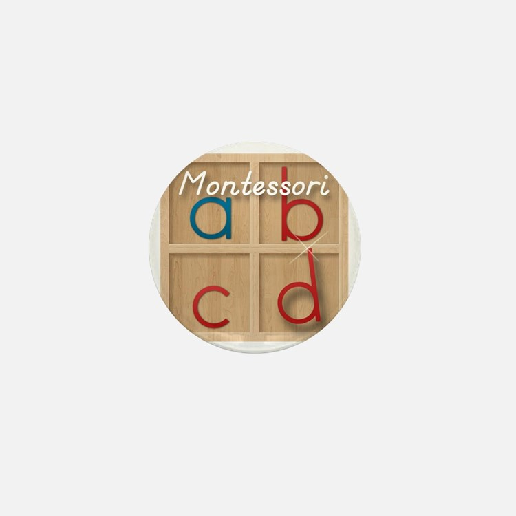 Mobile Montessori - Movable Alphabet i Mini Button