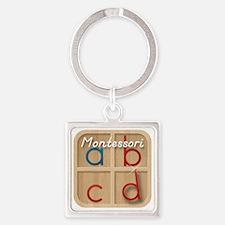Mobile Montessori - Movable Alphab Square Keychain