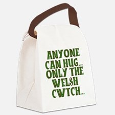 Hug & Cwtch Canvas Lunch Bag