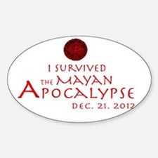 I Survived the Mayan Apocalypse Decal