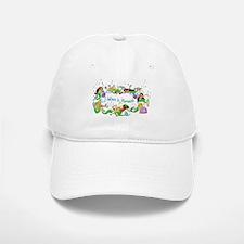 I Believe In Mermaids Baseball Baseball Cap
