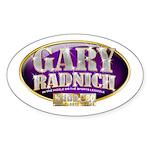 Gary Radnich Oval Sticker