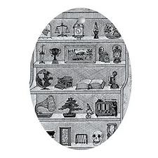 Shelf Life Oval Ornament