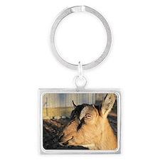 goat Landscape Keychain
