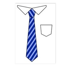 Baby Tie Shirt Postcards (Package of 8)