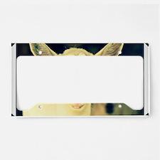 goat:  clotilde License Plate Holder