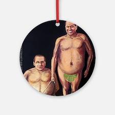 Silvio Berlusconi Round Ornament