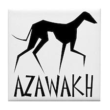 Azawakh Tile Coaster