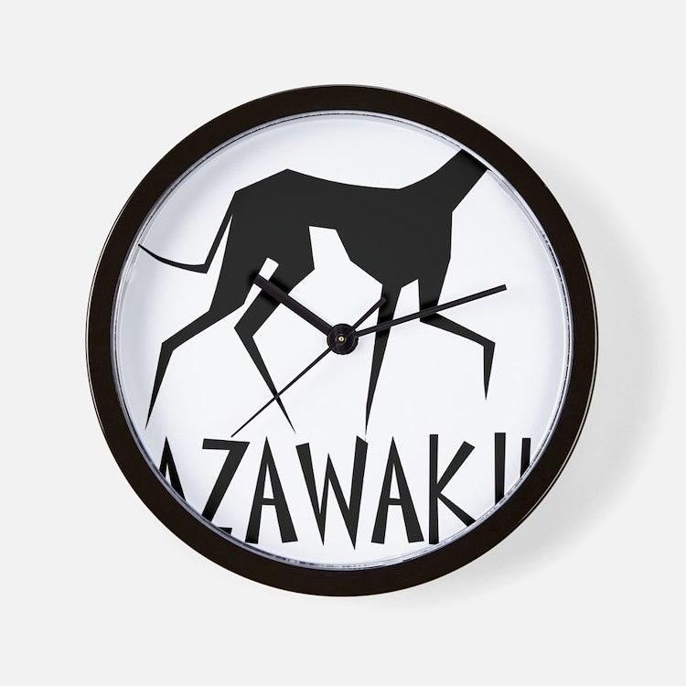 Azawakh Wall Clock