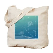 Lotus Sticky Notepad Tote Bag