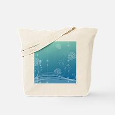 Lotus Queen Duvet Tote Bag