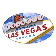 ENGAGED IN LAS VEGAS Decal